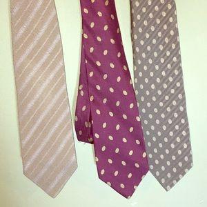 Georgio Armani ties, 3, separately or in a bundle